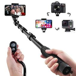 Selfie Stick, Arespark Wireless Extendable Selfie Monopod Po