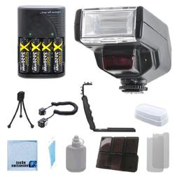 Pro Series D130N Professional TTL Digital Flash with Bounce,