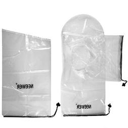 Neewer 2 Pack Set Rain Cover Rainproof Camera Protector for