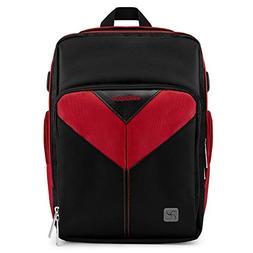 Shock Proof Multipurpose Red Medium Equipments Backpack for