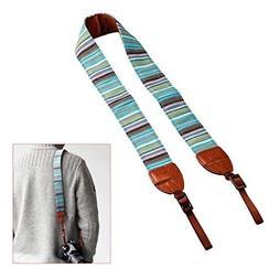 TARION Camera Shoulder Neck Strap Vintage Belt for All DSLR