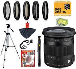 Sigma 17-70mm F2.8-4 DC OS HSM Contemporary Lens with UV, CP