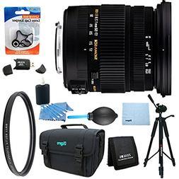 Sigma 17-50mm f/2.8 EX DC OS HSM FLD Zoom Lens for Nikon DSL