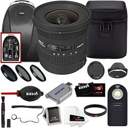 Sigma 10-20mm f/3.5 EX DC HSM ELD SLD Wide-Angle Lens for CA