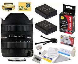 Sigma 8-16mm f/4.5-5.6 DC HSM FLD AF Ultra Wide Zoom Lens  W