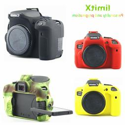 Silicone Armor Skin Case Cover Bag Protector for Canon EOS 7