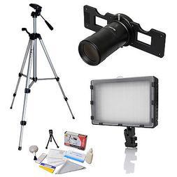 Opteka HD Slide Copier Studio Lighting Kit for Nikon Digital
