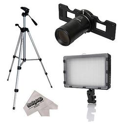 Opteka HD Slide Copier Studio Lighting Kit for Canon EOS Dig