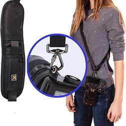 YBluesky Sling Camera Shoulder Neck Strap Quick Release for