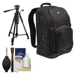 Case Logic Digital SLR Camera Backpack Case   + Tripod + Acc