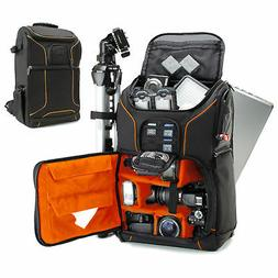 "USA GEAR Digital SLR Camera Backpack w/15.6"" Laptop Compartm"