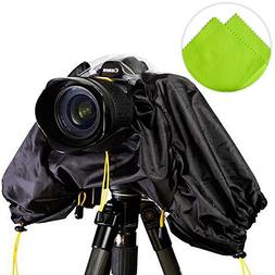 First2savvv SLR Camera Rain Coat cover for OLYMPUS Nikon Can