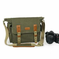 Lavievert SLR DSLR Camera Messenger Shoulder Bag with Shockp