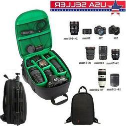 SLR DSLR Camera Waterproof Bag Shockproof Case Backpack Ruck