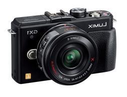 Panasonic digital SLR camera LUMIX GX1 motorized zoom lens K