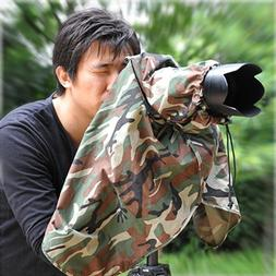 Matin Digital SLR Camera Rain Cover Camouflage - Small