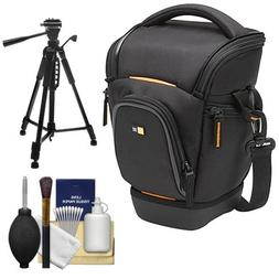 Case Logic Digital SLR Zoom Holster Camera Bag/Case   + Trip