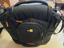Case Logic SLRC-202 Medium DSLR Camera Bag Black New no tags