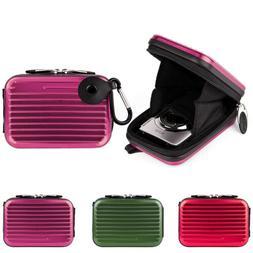 Small Tough Compact Camera Case Bag w/Clip For Nikon COOLPIX