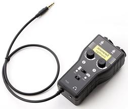 Saramonic SmartRig+ 2-Channel XLR/3.5mm Microphone Audio Mix