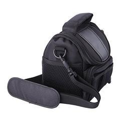 LXJ SMILEBlack Soft Nylon Digital Camera Case Bag Cover Pouc