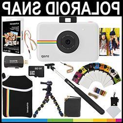 Polaroid Snap Instant Camera  + 2x3 Zink Paper  + Neoprene P