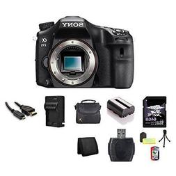 Sony A77II 24.3 MP APS-C Digital SLR Camera  64GB Bundle 3