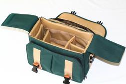 Spacious Padded Nylon SLR System Camera Bag Case & Carry Str