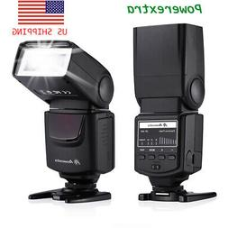 Wireless Speedlite Flash For Canon Sony Nikon Fujifilm Olymp