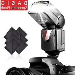 SAMTIAN Speedlite Flash Professional Electronic Camera Flash