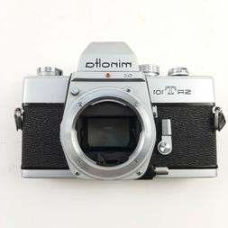 Minolta SRT 101 Camera Body Only Made In Japan