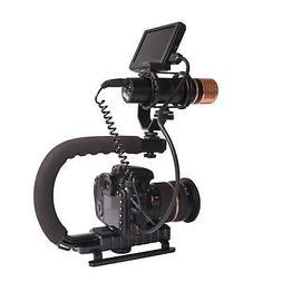 Stabilizer C-Shape Bracket Video Handheld Grip fit for Camer