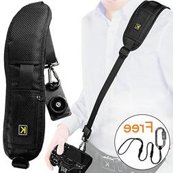 Camera Strap, Safety Rapid Shoulder Strap Sling Belt, Neck S