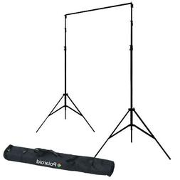 Polaroid Pro Studio Telescopic Background Stand Backdrop Sup