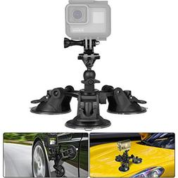 suction cup mount triple w