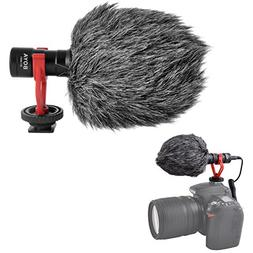 Boya by-MM1 by Shotgun Video Microphone Universal Compact On
