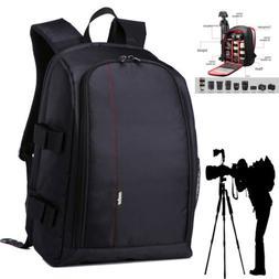 Super Large Digital Camera Bag Backpack Photo SLR DSLR Case