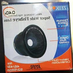 Zeikos super wide fisheye lens fits 46/49/52/58 mm