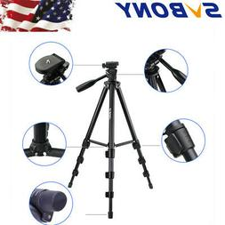 SV 54'' Aluminum Alloy Tripod& Bag for Digital SLR Camera Sp
