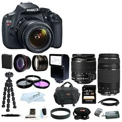 Canon T5 EOS Rebel T5 DSLR Camera with EF-S 18-55mm IS II &
