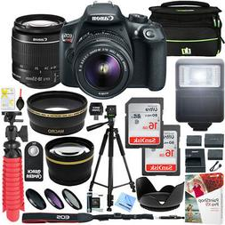 Canon T6 EOS Rebel DSLR Camera EF-S 18-55mm f/3.5-5.6 IS II