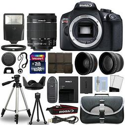 Canon T6 Digital SLR Camera + 18-55mm IS II 3 Lens Kit + 16G