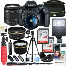 Canon T7 EOS Rebel DSLR Camera EF-S 18-55mm f/3.5-5.6 IS II