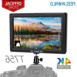 FEELWORLD T756 7 Inch DSLR Camera Field Monitor 4K HDMI Inpu