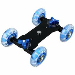 Table Top Dolly Mini Car Skater Track Slider Super Mute for