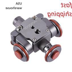 Tabletop Dolly Car DSLR Camera Video Camcorder Rolling Slide