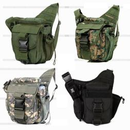 Tactical Military Messenger Shoulder SLR Waist Camera Bag Pa