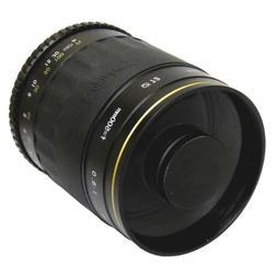 Opteka 500mm Telephoto f/8.0 Mirror lens for Pentax K Mount