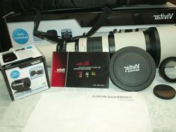 650mm-1300mm Telephoto Lens for Canon Rebel T3i T4i T5i Digi