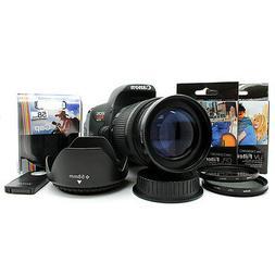 Telephoto Zoom Lens KIT for Canon EOS Rebel DSLR Camera T6i